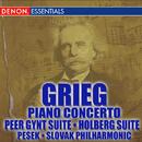 Grieg Piano Concerto - Peer Gynt - Holberg Suite/Libor Pesek, Slovac Philharmony