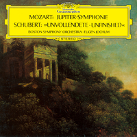 シューベルト: 交響曲第8番<未完成>/モーツァルト: 交響曲第41番<ジュピター>/Boston Symphony Orchestra, Eugen Jochum