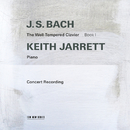 J.S. Bach: The Well-Tempered Clavier, Book I (Live in Troy, NY / 1987)/Keith Jarrett