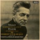 Mozart: Symphonies No.40 & 41 / Dvorak: Symphony No.8/Wiener Philharmoniker, Herbert von Karajan