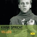 Kinski spricht Villon/Klaus Kinski