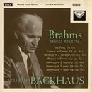 Brahms Recital / Mendelssohn/Wilhelm Backhaus