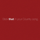 Stick That In Your Country Song/Eric Church