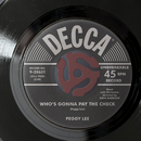 Who's Gonna Pay The Check?/Peggy Lee