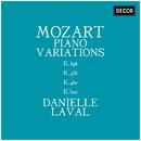 Mozart: Piano Variations K.398, K.455, K.460, K.500/Danielle Laval
