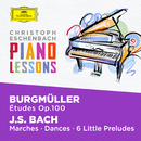 Piano Lessons - Burgmüller: 25 Etudes Op. 100; Bach, J.S.: Six little Preludes, BWV 933-938, Various Piano Pieces/Christoph Eschenbach