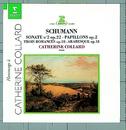 Schumann : Piano Sonata No.2, Arabeske & Papillons/Catherine Collard