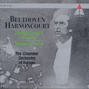 Beethoven : Symphonies Nos 6, 'Pastoral' & 8/Nikolaus Harnoncourt & Chamber Orchestra of Europe