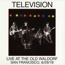 Live At The Old Waldorf/Television