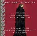 Strauss: Tod und Verklärung, Don Juan & 4 letzte Lieder [4 Last Songs]/Deborah Voigt, Kurt Masur & New York Philharmonic Orchestra