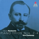 Roslavets : Piano Trios Nos 2 - 4/Trio Fontenay
