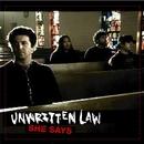 She Says (Digital Single)/Unwritten Law