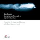Beethoven : Symphonies Nos 4, 5 & Egmont Overture  -  Elatus/Nikolaus Harnoncourt