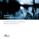 Brahms : Symphonies Nos 3 & 4  -  Elatus/Nikolaus Harnoncourt & Berlin Philharmonic Orchestra