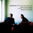 Beethoven : Piano Concertos Nos 1 - 5/Pierre-Laurent Aimard, Nikolaus Harnoncourt & Chamber Orchestra of Europe