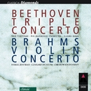 Beethoven : Triple Concerto & Brahms : Violin Concerto/Eliahu Inbal, Cleveland Orchestra & Philharmonia Orchestra