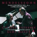 Mendelssohn : Piano Concertos Nos 1, 2 & Capriccio brillant/Cyprien Katsaris, Kurt Masur & Gewandhausorchester Leipzig