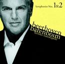 Beethoven : Symphonies Nos 1 & 2/Staatskapelle Berlin, Daniel Barenboim