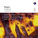 Wagner : Siegfried [Highlights]  -  Apex/Anne Evans, Hilde Leidland, Siegfried Jerusalem, Graham Clark, John Tomlinson, Daniel Barenboim & Bayreuth Festival Orchestra