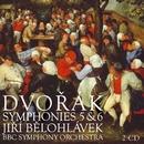 Dvorák : Symphonies Nos 5 & 6, Scherzo capriccioso & The Hero's Song/Jirí Belohlávek & BBC Symphony Orchestra