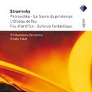 Stravinsky : L'oiseau de feu, Petrushka & Le sacre du printemps  -  APEX/Eliahu Inbal