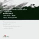 Elatus - Mahler: Lieder Eines Fahrenden Gesellen/Thomas Hampson