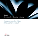 Haydn : Symphonies Nos 31, 59 & 73/Nikolaus Harnoncourt & Concentus musicus Wien
