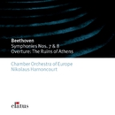 Beethoven : Symphonies Nos 7, 8 & The Ruins of Athens  -  Elatus/Nikolaus Harnoncourt & Chamber Orchestra of Europe
