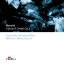 Handel : Concerti Grossi Op.3  -  Elatus/Nikolaus Harnoncourt & Concentus musicus Wien