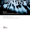 Mozart : Piano Concertos Nos 5, 9 & 16/Daniel Barenboim & Berlin Philharmonic Orchestra