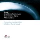 Mozart : Serenade No.13, 'Eine kleine Nachtmusik', Divertimento No.11 & A Musical Joke/Nikolaus Harnoncourt & Concentus musicus Wien