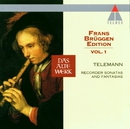 Telemann : Frans Brüggen Edition Volume 1 : Recorder Sonatas & Fantasias/Frans Brüggen