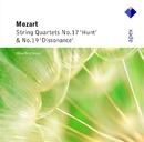 Mozart : String Quartets Nos 17, 'Hunt' & 19, 'Dissonance'  -  Apex/Alban Berg Quartett