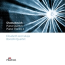 Shostakovich : Piano Quintet & Piano Trio No.2  -  Elatus/Elisabeth Leonskaja & Borodin Quartet