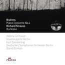 Brahms : Piano Concerto No.1 & Strauss, Richard : Burleske  -  Elatus/Hélène Grimaud
