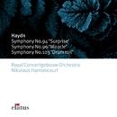 Haydn : Symphonies Nos 94, 96 & 103  -  Elatus/Nikolaus Harnoncourt & Royal Concertgebouw Orchestra