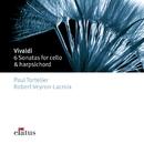 Vivaldi : 6 Cello Sonatas  -  Elatus/Paul Tortelier & Robert Veyron-Lacroix