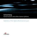 Schönberg : Transcriptions  -  Elatus/Les Solistes de l'Opéra National de Lyon