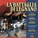 Cetra Verdi Collection: La battaglia di Legnano/Fernando Previtali
