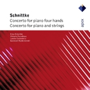 Schnittke : Concerto for Piano 4 Hands & Concerto for Piano & Strings  -  Apex/Viktoria Postnikova, Irina Schnittke, Gennadi Rozhdestvensky & London Sinfonietta