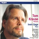 Schumann : Dichterliebe - Brahms : Songs - Musorgsky : Songs and Dances of Death/Tom Krause