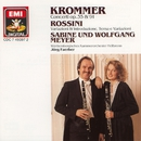 Krommer: Concertos for 2 Clarinets and Orchestra Op.35 & Op.91 / Rossini: Variations/Sabine Meyer/Wolfgang Meyer/Württembergisches Kammerorchester Heilbronn/Jörg Faerber