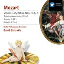 Mozart:Violin Concertos 4 & 5 /Rondos/Adagio/David Oistrakh/Berliner Philharmoniker