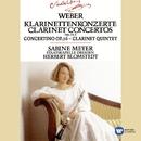 Weber : Clarinet Concertos 1 & 2/Concertino in E flat/Clarinet Quintet/Sabine Meyer