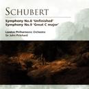 Schubert Symphonies Nos. 8 & 9/Sir John Pritchard/London Philharmonic Orchestra
