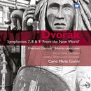 Dvorak: Symphonies Nos 7,8 & 9/Carlo Maria Giulini