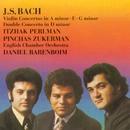 Bach: Violin Concertos/ Double Concerto/Itzhak Perlman/Pinchas Zukerman/English Chamber Orchestra/Daniel Barenboim