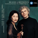 Beethoven:Symphony no.5 in C minor/Brahms:Violin Concerto in D/Sir Simon Rattle/Kyung-Wha Chung/Wiener Philharmoniker