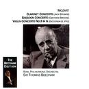Mozart: Clarinet, Bassoon & Violin Concertos/Sir Thomas Beecham/Royal Philharmonic Orchestra