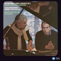 ラフマニノフ:ピアノ協奏曲第2番、フランク:交響的変奏曲